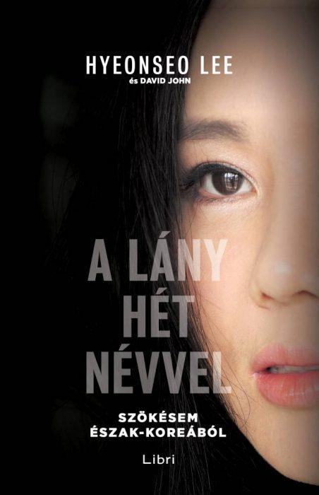 Könyv borító - A lány hét névvel