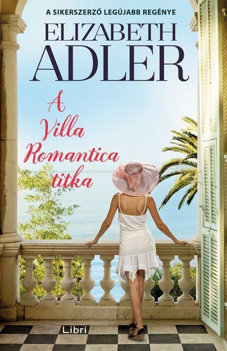 Könyv borító - A Villa Romantica titka