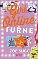 Könyv borító - Girl Online – A turné