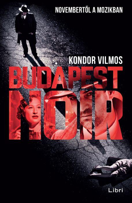 Könyv borító - Budapest Noir