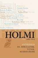 Könyv borító - Holmi-antológia 3.