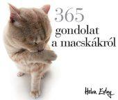 Könyv borító - 365 gondolat a macskákról