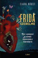 Könyv borító - Frida szerelme